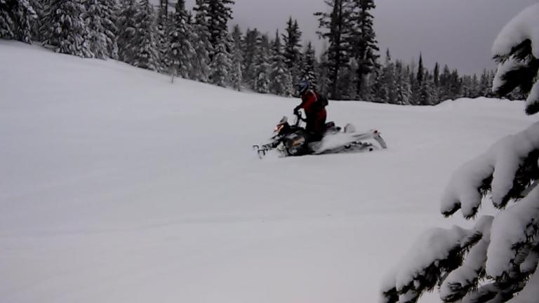 Ladd Canyon/La Grande Watershed Snowmobile