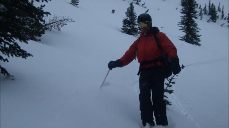 Graupel on Mule Peak Snow Study 2-6-2016