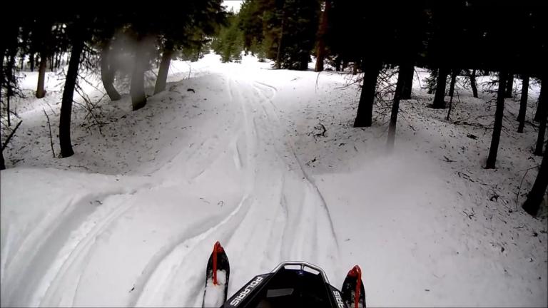 Sample Buck Creek Snwomobile Ride