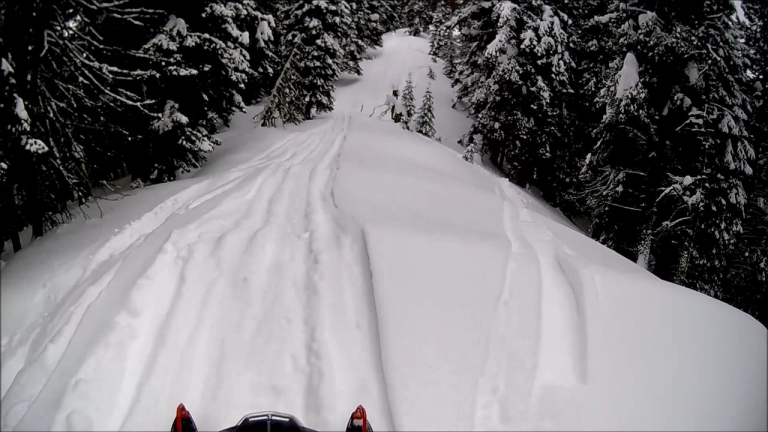 Bennet Peak Snowmobile - Wallowa Mountains