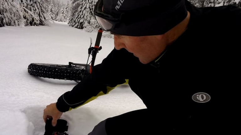 Summit Road Snow - Tollgate 11-6-2017
