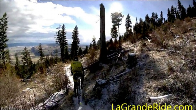 MTB On A Little Snow - XTERRA La Grande Loop