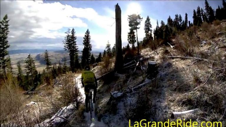 MTB On A Little Snow - XTERRA La Grande Loop